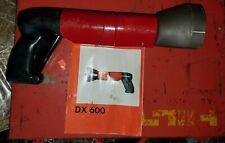 Hilti Dx-600 powder actuated nail & stud gun