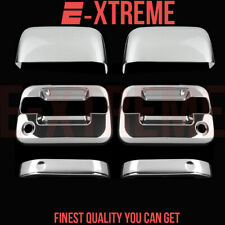 FOR FORD 04-08 F-150 XLT/FX4 2DRS HANDLE W/PSKH+2PC TOPHALF MIRROR CHROME COVERS