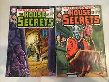 Lot of House of Secrets, #83, 87, 99, 109, 123, 129, 132, 135, 144, 147, & 148