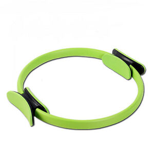 Pilates Ring Dual Grip Fitness Weight Exercise Yoga Circle Body Trainer Tools