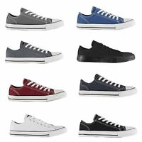 SoulCal Canvas Low Mens Trainers Shoes Casual Footwear Sneakers