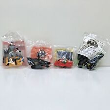 4 McDonald's Happy Meal Batman, Robin, Catwoman & Batmobile Toys 1991-1993