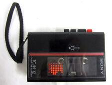 Vintage Sony TCM-12 Cassette-Corder Recorder Tape Player Walkman w/ Built in Mic