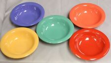 (5) FRUIT BOWL SALSA 4 OZ HEAVY MELAMINE 5 Colors Vegetable Cup Desert Side Dish