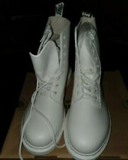 Dr Martens Boots Pascal All White With Zip 9
