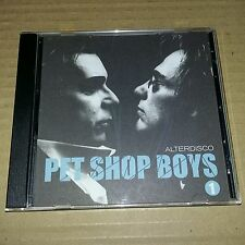 PET SHOP BOYS - ALTERDISCO 1 CD. Limited Edition. Remixes Not Released on CD B4