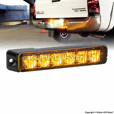 6W AMBER Mini LED Emergency Strobe Warning Light Head - LAMPHUS NanoFlare NFLH06