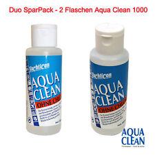 2 Flaschen Aqua Clean AC1000 für 1000L Wasser tötet Bakterien reinigt Sparpack