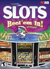 Phantom EFX WMS Slots: Reel 'Em In! PC Slot Casino Game - New