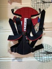 baby Bjorn Baby Carrier Red And Black with lumbar back support Pre-own Good Cond