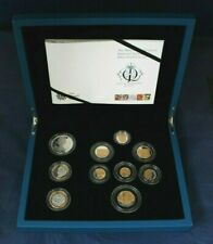 """2012 Silver Proof 10 coin Set """"Diamond Jubilee"""" in Case with COA     (AC6/20)"""