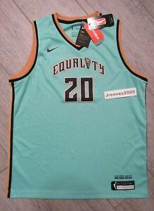 NWT Nike WNBA Victory New York Liberty Sabrina Ionescu #20 Jersey Sz XL - Youth