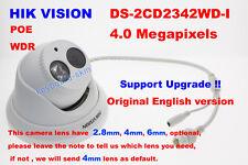 Hikvision Original English DS-2CD2342WD-I 4MP CCTV IP POE Network Dome Camera