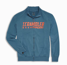 Ducati Scrambler Blue Star Sweatshirt Jacket Sweatshirt Sweater Blue New