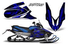Yamaha APEX XTX Decal Wrap Graphic Kit Sled Snowmobile 2006-2011 NIGHTWOLF BLUE