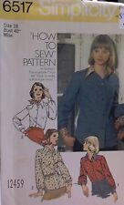 "PATTERN BLOUSE SHIRT TYPE COLLAR  ""HOW TO SEW PATTERN""  18  BUY 3 GET 1 FREE"
