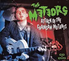 THE METEORS - ATTACK OF THE CHAINSAW MUTANTS (NEW SEALED CD+DVD)