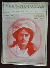 Play-Pictorial Magazine from April 1902, Volume1, No 1, Mice & Men, at the Lyric