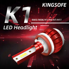 H11/H8/H9 18000LM 6000K LED Headlight Globes Bulbs Hi-Low Beam Fog Lights Lamp