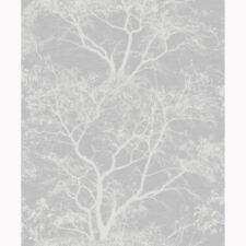 chuchotant arbres pailleté Papier peint gris / ARGENT - Holden 65401 scintillant