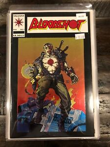 Bloodshot 1 First Chromium Cover EVER GEM MIN UNREAD Valiant Comic Book A6-130