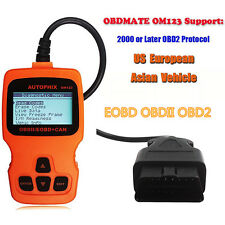 OBDII EOBD Scanner Fault Code Reader CAN OBD2 OM123 Engine Scan Tool Diagnostic