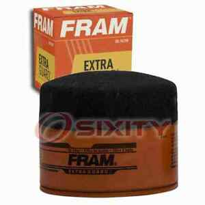FRAM Extra Guard Engine Oil Filter for 1984 Volvo GLE Oil Change Lubricant yo
