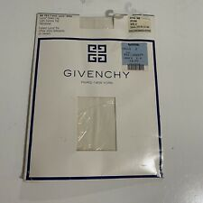 New listing Givenchy Vintage Ref 264 French Lycra Sheer Light Control Top Pantyhose Ivory A