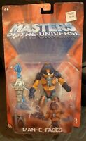 Mattel 2003 He-Man Masters Of The Universe Man-E-Faces, factory sealed
