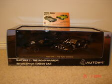 1:43 Biante Mad Max 2 XB GT Falcon interceptor & Landau Enemy twin set