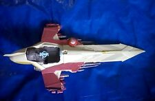 "2001 Star Wars ATTACK OF THE CLONES OBI-WAN KENOBI'S JEDI STARFIGHTER 15"" Long"
