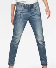 G Star Raw Arc 3D Low Boyfriend Light Wash Jeans Ladies 26W 32L *REF18-12