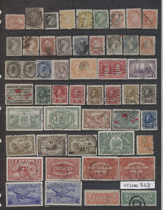 Canada OLD COLLECTION LOT High CV Lot #843