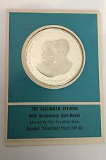 Columban Fathers John Blowick Bishop Edward Galvin Missionary Society Coin Medal