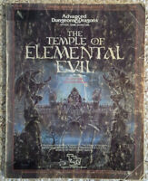 T1-4 - The Temple of Elemental Evil (1st) - Adv Dungeons & Dragons - AD&D TSR