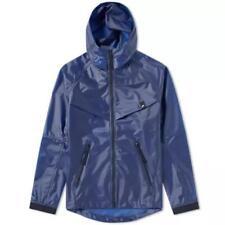 Nike Sportswear QS Quick Waterproof Hooded Jacket Midnight Navy AJ1400 410 Sz S