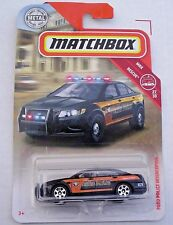 2010 Ford Police Interceptor STATE POLICE. 2018 Matchbox 84/125 FHH35. New!