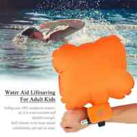 2020 Water Aid Lifesaving Anti-Drowning Floating Portable Wristband 4XCo2 Cylind