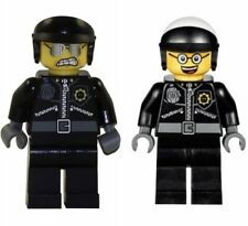 NEW LEGO MOVIE GOOD/BAD COP MINIFIG minifigure figure 70802 police 2 sided face