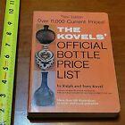 3RD EDITION BOOK PRICE GUIDE OLD KOVELS 1975 VINTAGE BOTTLE