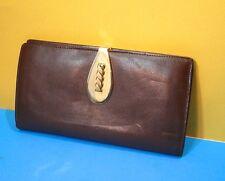 Superbe porte monnaie, portefeuille vintage cuir ou …