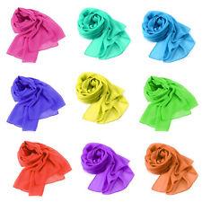 Chiffon Shawls/Wraps without Pattern for Women