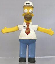 Simpsons Bendable Springfield Nuclear Power Plant Homer Figure NJ Croce Bend-Ems
