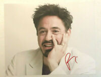 "Robert Downey Jr. ""Iron Man"" Hand Signed Autographed 8x10 Photo w/hologram COA!"