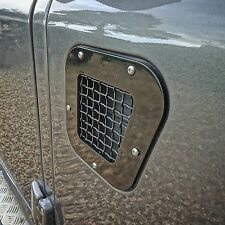 Land Rover Defender Hurricane air intake Fully Stainless Steel - Uproar 4x4
