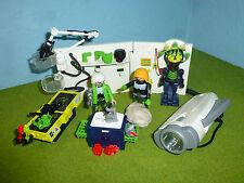 4880 top agente robo-laboratorio de gansters con linterna a 4875 Playmobil 46