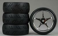 fit 12mm Hex Drive GS Racing Setup Wheels for 1//10 Scale Touring /& Drift Cars