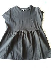Primark Black Short Sleeved Peplum Tshirt Size S