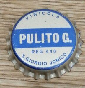 Pulito G. S. Giorgio Jonico tappo corona vino