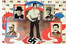 WW2 - Photo d'un tract de propagande des Forces françaises de l'Intérieur (FFI)